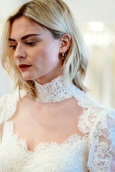 And the Bride Wore: Pandora Sykes' Wedding Dress Fitting