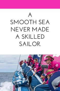 Inspiration from the SCA team, the all female team racing in the Volvo Ocean Race. #weareteamsca #amazingwomeneverywhere #sponsored