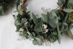 FLEURI (フルリ)| ドライフラワー dryflower リース wreath ブーケ ユーカリ ハーフリース