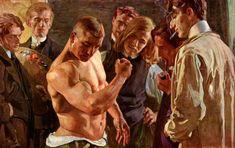 'Muscles', Osmar Schindler, 1907