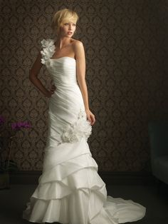 This dress would really be stunning on you!!!! I love it we I have seen in on brides before and its a great dress!!