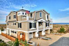 Fenwick Island dunes. Maryland waterfront by Echelon Custom Homes.