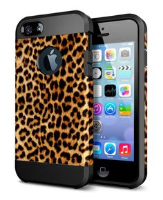 ACCBTECH iPhone 6S 6 Simple Slim Fit Shockproof Protective Case Soft TPU Hard PC Back Dual Layer Protection Hybrid Armor Camouflage Camo Rubber Bumper Cover Case for iPhone 6/6S 4.7inch(leopard print)