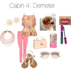 Cabin 4: Demeter | Zabolicious | Percy Jackson and the Olympians | Mythology | Fashion