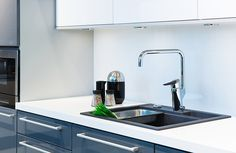 Oras Optima - a new kitchen faucet with a smart dishwasher valve and high spout - Oras 2734F
