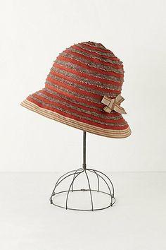 Oxide Stripe Bucket Hat #anthropologie. love hats, especially the bucket hat.