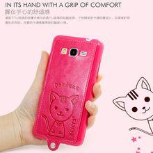 Etui For Samsung galaxy Grand Prime Case Original Luxury Domi Cat Leather Coque For Samsung Grand Prime Cases 5.0 Bag Cover Caso