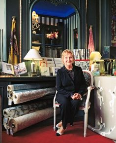 Textile Designer Celia Birtwell. (Married to Fashion Designer Ossie Clark, muse to David Hockney). Photo: Eva Vermandel. The Telegraph. 21 August 2011