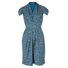 Emily and Fin Elsa Orange Blush Dress: Limited Edition at Oliver Bonas