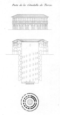 An Inverted Tower: Well of the Citadel of Turin, by Jean-Nicolas-Louis Durand – SOCKS