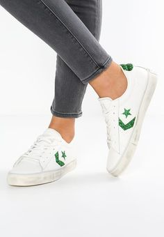 7afe317df04 PRO LEATHER VULC OX LEATHER DISTRESSED - Baskets basses - white emerald -  ZALANDO.FR. BasketsSneakersEmeraldConverse ...