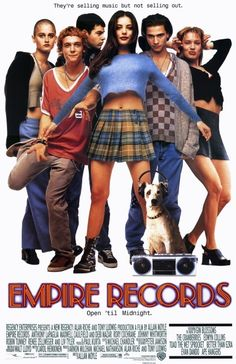 "Released in 1995, Empire Records combined a record shop, mini-kilts and an amazing soundtrack to create the ultimate teen movie. And here's why it ruled. | 19 Wonderful Reasons To Rewatch ""Empire Records"""