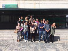Visita al Archivo de la Delegación Territorial de Educación, Cultura y Deporte de Almería (jueves, 9 de abril, 2015)