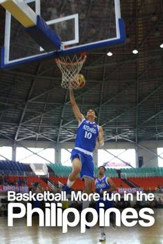 Basketball. More Fun In The Philippines