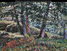 Oaks and blueberry bushes (Georges Lacombe)