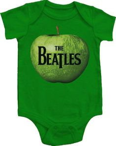 Beatles onesie! My future babies will definitely have one of these.