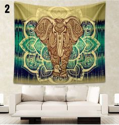 Mandala Elephant Blanket - Now 7 Beautiful Designs to Choose From!