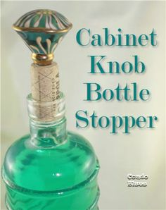 Cork Cabinet Knob Stoppers