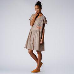 Megan Park Mayur Khadi Summer Dress #huzza