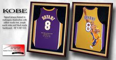 Kobe Bryant - Framed Jerseys