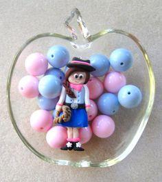 Bubblegum Bead Kit Chunky Beads Polymer by CatsBeadKitsandMore