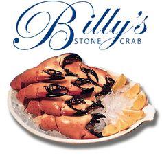 Billy's Stone Crab. Hollywood Florida