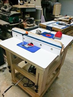 Adjustable height worktable/router table - Woodworking Talk - Woodworkers Forum