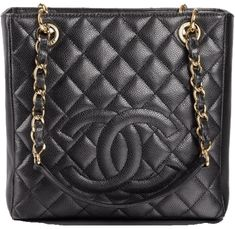 fe434b0d05ec Get one of the hottest styles of the season! The Chanel Shopping Tote  Petite Pst Black Caviar Shoulder Bag is a top 10 member favorite on Tradesy.