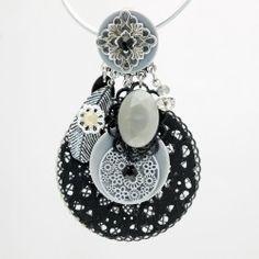 Découvrez nos bijoux de créateur Patchwork (Clairebelle)... pour une mode ethnique, chic, bohème... le bijou parle de lui-même... en vente sur notre site https://www.avecpassion.fr/54_patchwork-clairebelle