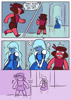 melsephant:ok so my question is how did Ruby & Sapphire get together and did anything like this happen in the process