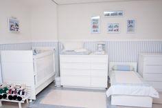 Quarto de Bebê Dois Irmãos by Berta Gonçalez - Decoração de Quartos de Bebês - Guia do Bebê