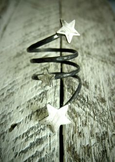 Your Own Shooting Stars Three Distressed Stars On by palefishny