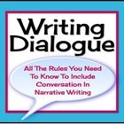 One narrative writing skill that most middle and high school students struggle with is using dialogue properly.  This resource includes a powerpoin...