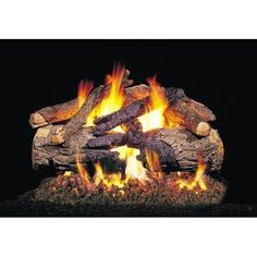 real fyre pioneer oak vented gas logs