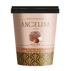 Crème glacée aux marrons façon Mont-Blanc Angelina Paris