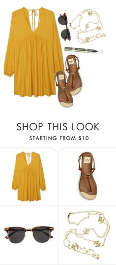 """""""What would you wear to hide the beginning of a baby bump? (Maternity Friendly)"""" by moria801 ❤ liked on Polyvore featuring MANGO, DV, H&M, Chanel and Barry M"""