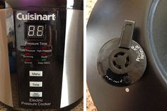 A video sharing the basics of using the electric Cuisinart Pressure Cooker.