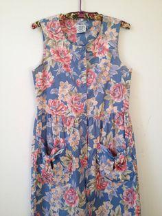 6110b5fb14da vintage laura ashley spring floral cotton by vintspiration on Etsy