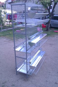 3 TIER FULLY AUTOMATIC QUAIL LAYING CAGES | Quail coop