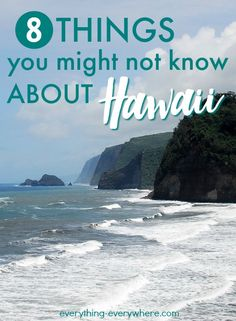 Hawaii is an endlessly fascinating place. Did you know...