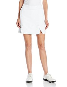 adidas Golf Womens Knit Petal Skort WhiteClear GreyClear Grey Large *** You can find out more details at the link of the image. Note:It is Affiliate Link to Amazon.