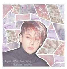 """""""{{{cropped set-my icon}}}"""" by milda-mint ❤ liked on Polyvore featuring kpop, pastel, BTOB, croppedset and ilhoon"""