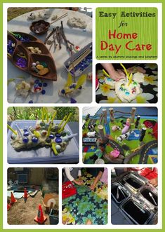 Easy activities and ideas for home day care and busy parents by Mummy Musings and Mayhem