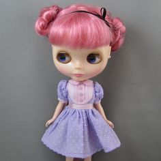Blythe Dress, Light Pink and Lavender Spring Outfit