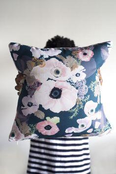 Une Femme Throw Pillow - Khristian A. Howell - $47.00 - domino.com