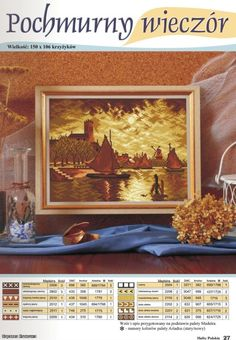 Cross Stitch Charts, Cross Stitch Embroidery, Cross Stitch Patterns, Delft, Countryside, Castle, Nature, Painting, Landscapes