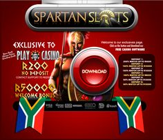 Looking for the best Slots Online Casino in South Africa? Join Spartan Slots Online Casino and enjoy the finest slot games with the biggest pay-outs. New players receive a no deposit bonus Online Casino Reviews, Online Casino Bonus, Play Casino, Casino Games, Mobile Casino, Play S, Slot Online, Web Browser, News Online