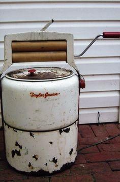 Taylor Junior small electric washing machine.