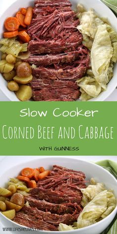 Slow Cooker Corned Beef and Cabbage | All Recipes Easy #slowcooker #recipes #food