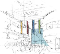 Architectural Sketches | Hatcher Prichard Architects Bristol Cardiff